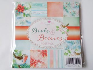 "Birds and Berries Paper Pack 6"" X 6"""