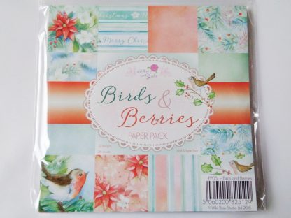 """Birds and Berries Paper Pack 6"""" X 6"""""""