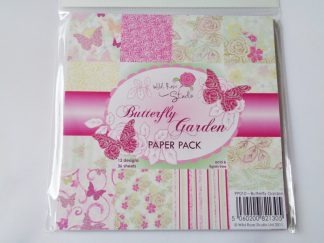 """Butterfly Garden Paper Pack 6"""" x 6"""""""