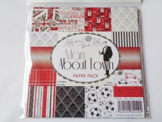 """Man About Town Paper Pack 6"""" x 6"""""""
