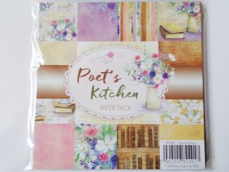 "Poets Kitchen Paper Pack 6"" x 6"""