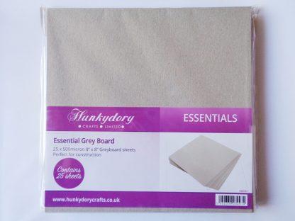 """Greyboard 8"""" x 8"""" 500 micron"""
