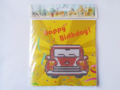 Card Kit - Retro Car