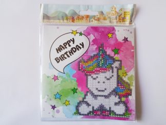 Card Kit - Birthday Unicorn