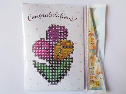 Card Kit - Congratulations Tulips