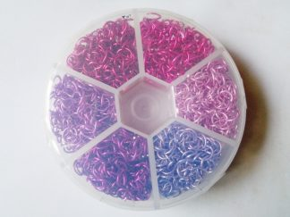 Jump Rings - Pinks & Purples