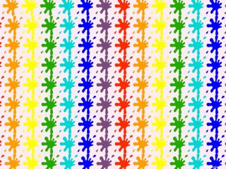 Rainbow Splats Friday Freebie