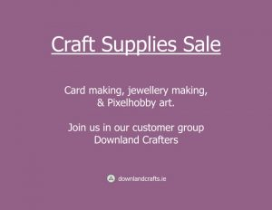Craft Supplies Sale