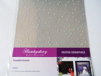 Snowfall Acetate - 5 Sheets