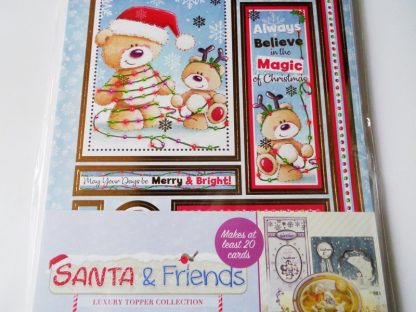 Luxury Toppers - Santa & Friends