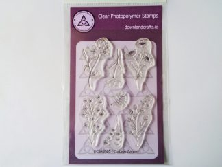 Cottage Garden Stamp Set A6 Clear Photopolymer