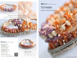 Toyama Bracelet Friday Freebie Printable Beading Pattern