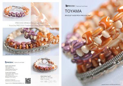 Toyama Bracelet Friday Freebie Printable Beading Pattern