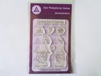 Gnome Christmas Stamp Set A6 Clear Photopolymer