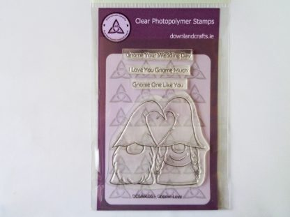 Gnome Love Stamp Set A6 Clear Photopolymer