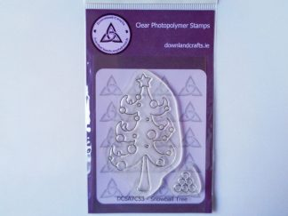 Snowball Tree Stamp Set A7 Clear Photopolymer