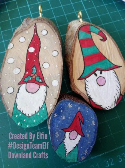 Our Gnome and Gnome Christmas Stamp Set Project Samples