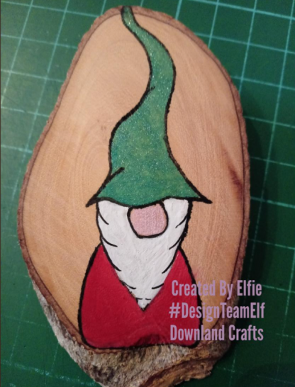 Gnome Christmas Stamp Set Project Sample