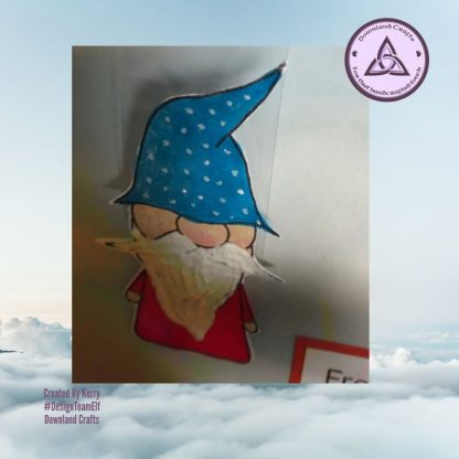 Our Gnome Stamp Set Card Sample