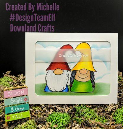 Gnome Love Stamp Set Card Sample