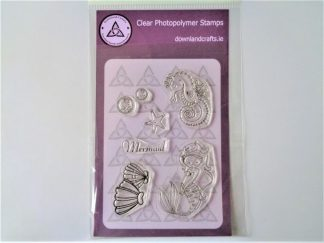 Mermaid Stamp Set A6 Clear Photopolymer