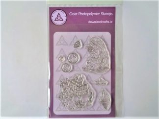 Siren A6 Clear Photopolymer Stamp Set