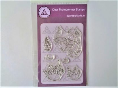 Coral A6 Clear Photopolymer Stamp Set