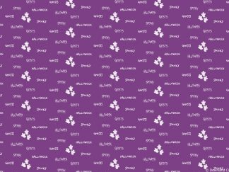 Purple Ghostly Friday Freebie Printable Paper Download