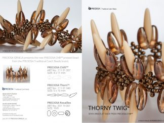 Thorny Twig Friday Freebie Printable Beading Pattern