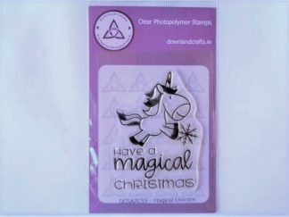 Magical Unicorn Stamp A7 Clear Photopolymer