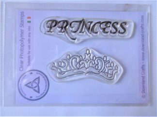 Princess Stamp Set - A7 Clear Photopolymer