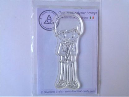 Confirmation Boy Stamp - A7 Clear Photopolymer