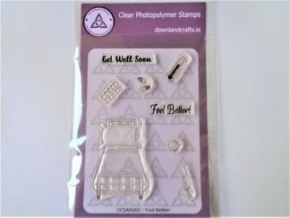 Feel Better Stamp Set A6 Clear Photopolymer
