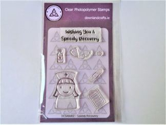 Speedy Recovery Stamp Set A6 Clear Photopolymer