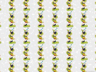 Penguin Tower Friday Freebie Printable Paper Download