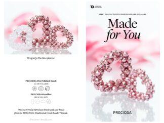 Preciosa Heart Friday Freebie Beading Pattern Download