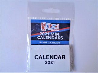 Mini Calendars Pack 2021