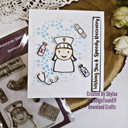 Speedy Recovery Stamp Set Card Sample