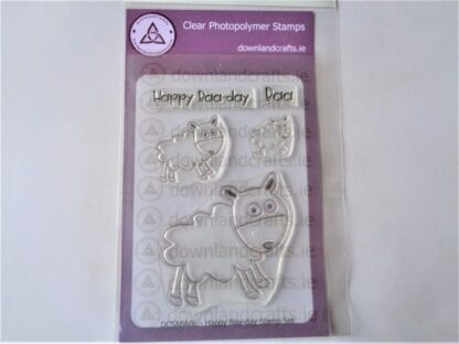 Happy Baa-day Stamp Set A6 Clear Photopolymer