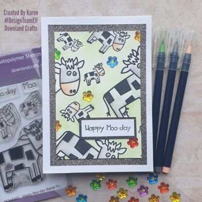 Happy Moo-day Stamp Card Sample