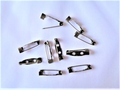 Brooch Pins - 20mm Bronze