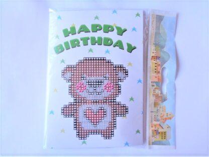 Card Kit - Teddy Bear