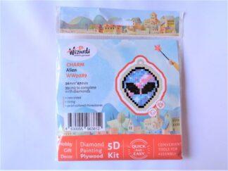 Diamond Painting Charm Kit - Alien Head