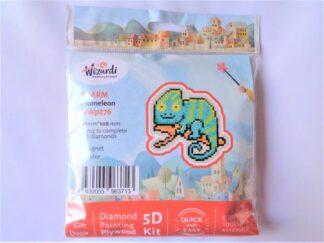 Diamond Painting Charm Kit - Chameleon