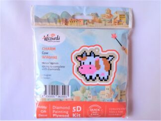 Diamond Painting Charm Kit - Cow