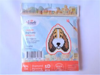 Diamond Painting Charm Kit - Dog Buddy