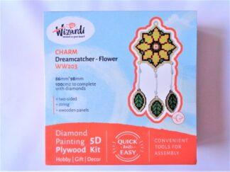 Diamond Painting Charm Kit - Dreamcatcher Flower