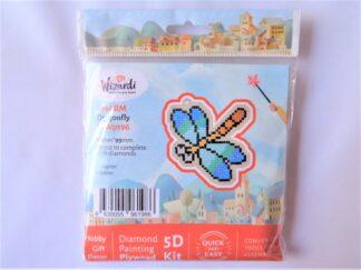 Diamond Painting Charm Kit - Dragonfly