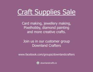 Facebook Month End Craft Sale