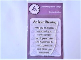 Irish Blessing Stamp Set - A7 Clear Photopolymer